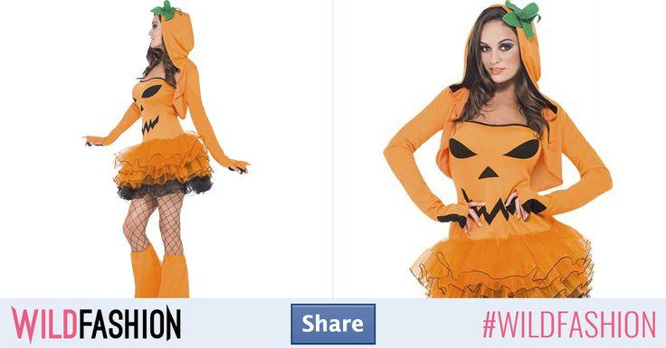 Share dacă vrei să fii dovleacul sexy simbol al Halloweenului.