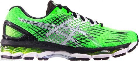 buty do biegania męskie Asics GEL-NIMBUS 17 8501 Flash Green/White/Black