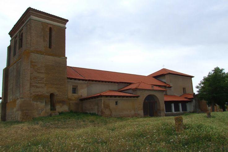 Iglesia de San Martín de Tours, Villarmentero de Campos, Palencia, Camino de Santiago
