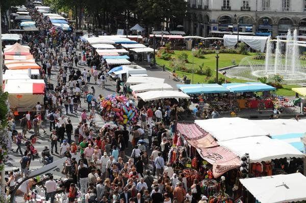 Grande braderie de Tours - rv tous les 1er dimanche de septembre