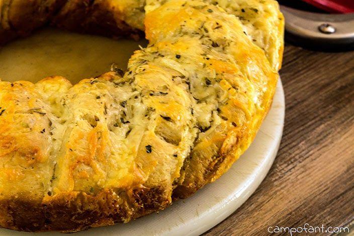 Knoblauch-Käse-Kräuter-Brot, Rezept, Omnia Rezept