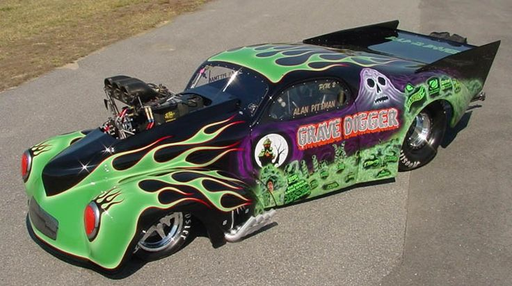 Pro Mod Pictures | NITRO SLOTS - HO Slot Car Drag Racing Forum / Message Board - Customizing, Collecting