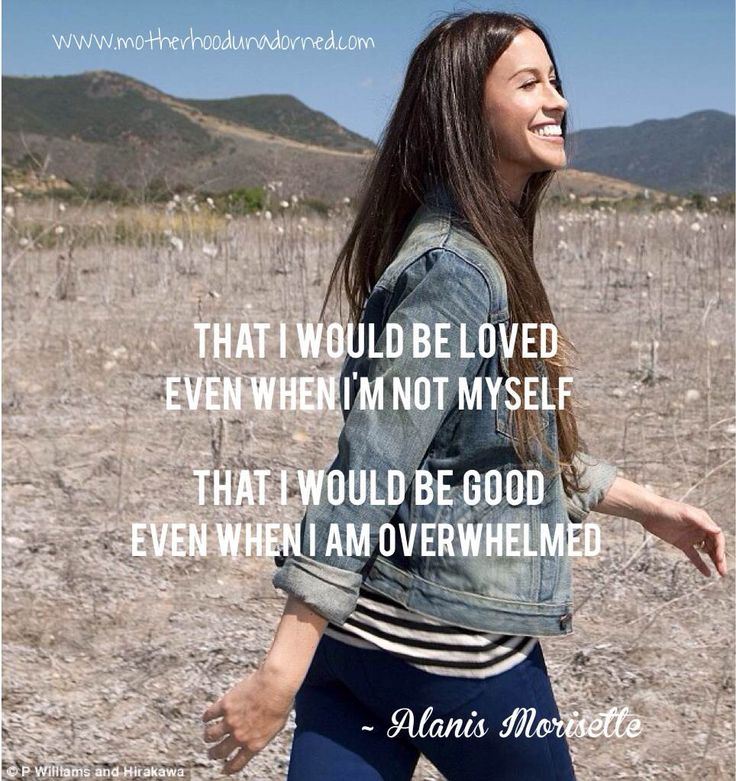 Songtext von Alanis Morissette - That I Would Be Good Lyrics