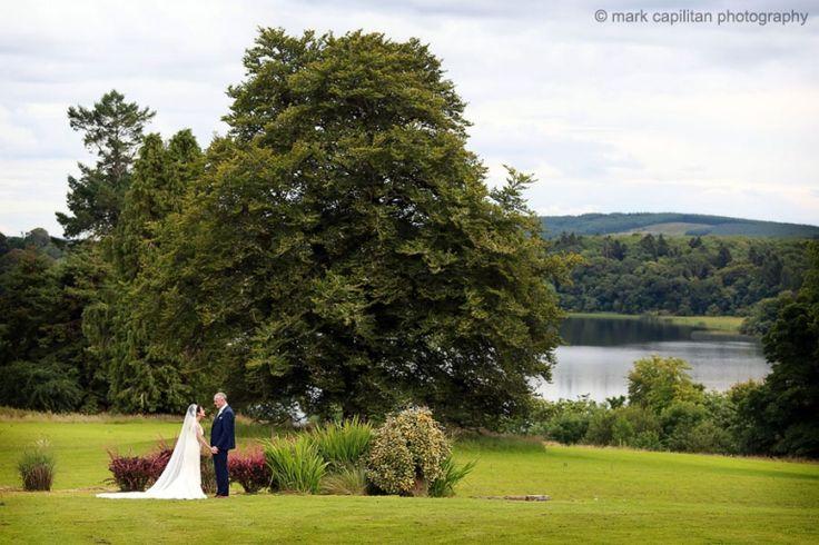 Kilronan Castle grounds Ireland portrait wedding photographer sligo