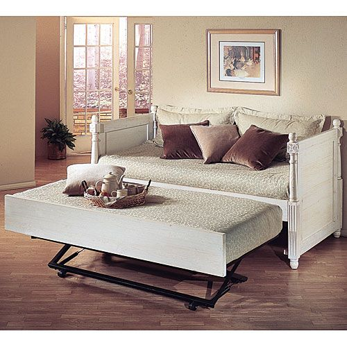 French Daybed With Trundle Day Bed Guest Rooms And Children