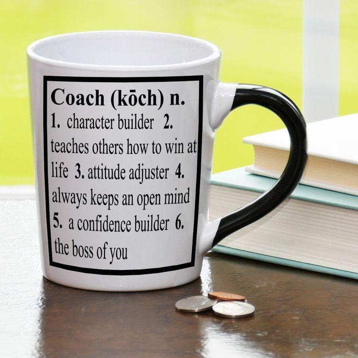 20 oz. Coach Definition Stoneware Coffee Mug