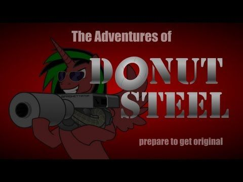 The Adventures of Donut Steel - YouTube