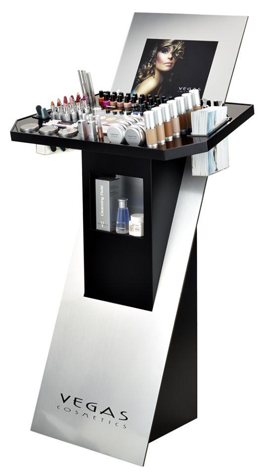 Cosmetic display on Behance