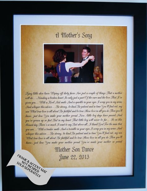 Personalized Gift For Son From Mother To Groom From by Picmats