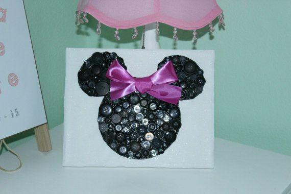 Hey, I found this really awesome Etsy listing at https://www.etsy.com/listing/251637670/disney-button-art-minnie-mouse-button