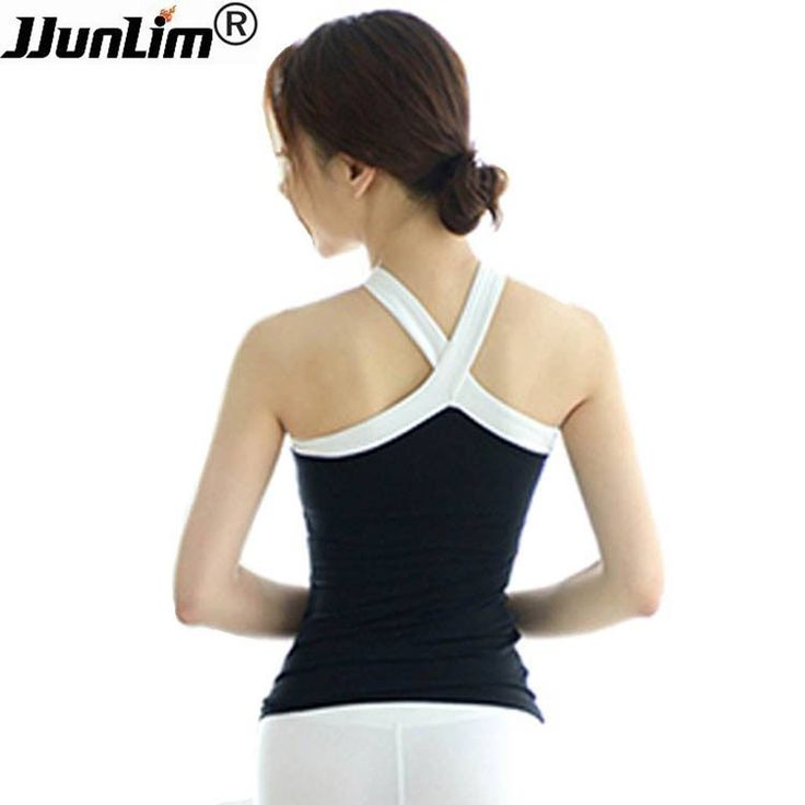 ==> [Free Shipping] Buy Best Sexy Yoga Sport Tank Top Fitness Shirt Women Dry Fit Sleeveless Running Shirt Female Workout Gym Shirts Vest Sport Clothing Online with LOWEST Price | 32820911532