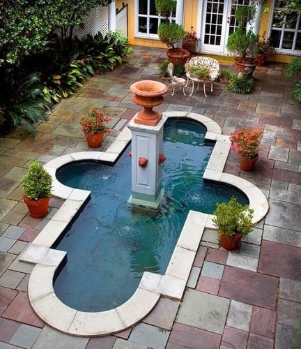New Orleans Design: 84 Best Interior Courtyard Images On Pinterest