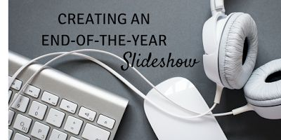 Creating an end-of-the-year slideshow: Tips for music selection, editing music, syncing pictures with music, and more! Geared for iMovie but great tips no matter what program you are using!