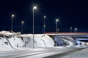 The relentless dark of Icelandic winter means its people experience it under the constant glow of streetlights. Stuart Richardson captured their stark beauty