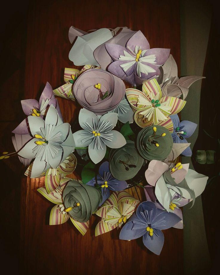 #origami #flowers