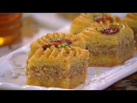 """Gâteau Recette facile de baklava """"baklawa"""" - la cuisine algérienne , Samira TV - YouTube"""