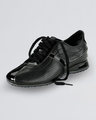 Air Bria Perforated Oxford Sneaker, Black by Cole Haan at Neiman Marcus.
