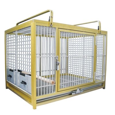 Kings Cages GOLD ATM 2029 Aluminum Travel Carrier 20X28X20