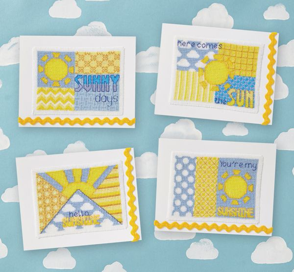 Summer Cards - Available in CrossStitcher 281