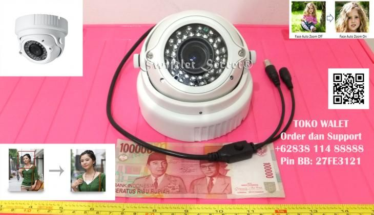 Camera CCTV SSC-MC4-7F, Sony Effio, 700TVL, IR 36m, Vandalproof, Lens 2.8 - 12 Mm, Auto Face Detection