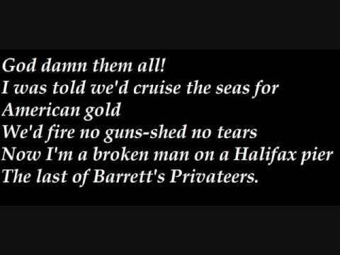 ▶ Barrett's Privateers - YouTube