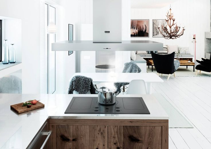 A showpiece island rangehood and matt induction cooktop are perfect for cooking on an island benchtop. A winning combination that will impress your guests