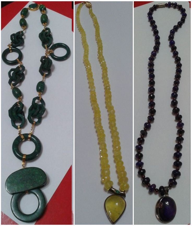 Beautiful Crystal Necklaces. Prices and details on: http://uncoveredtreasures.jimdo.com/
