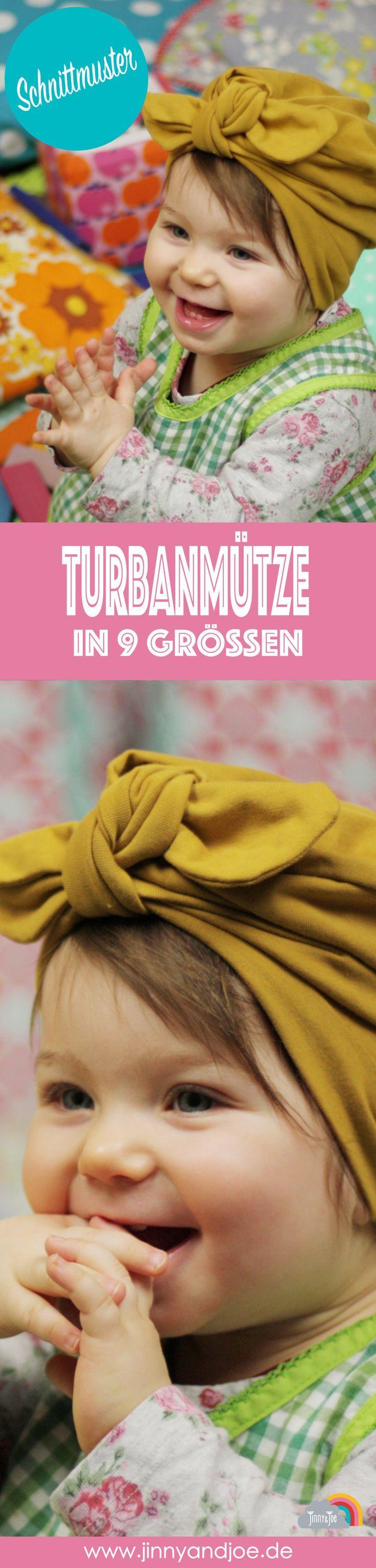 DIY Sewing – Turban Cap – einfach selbst zu nähen   – Nähen für Babys