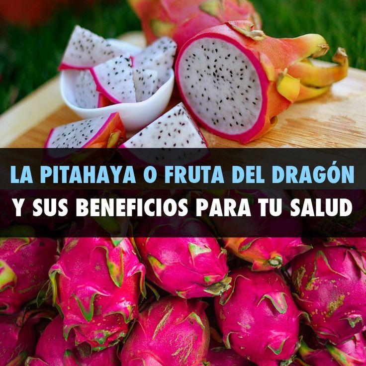 La Pitahaya O Fruta Del Dragón Y Sus Beneficios Para Tu Salud - La Guía de las Vitaminas
