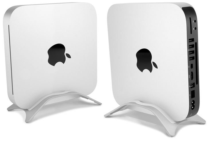 Increase air flow to the notoriously hot Mac mini with NuStand Alloy.