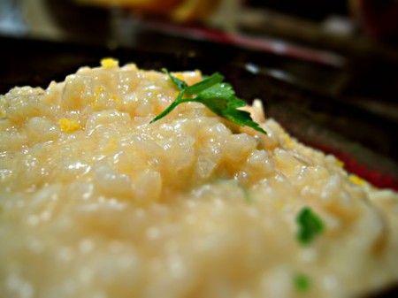 Ricette primi piatti: risotto al limone