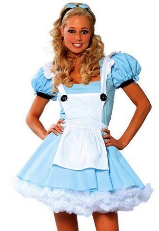 Alice in Wonderland Sexy Women's Halloween Costume