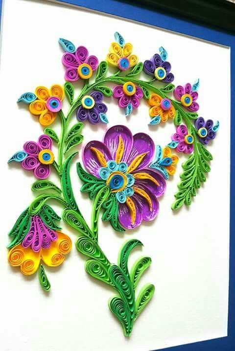 Pin By Wendy Ligo On Quill Art Ideas Pinterest Papier Tuto And