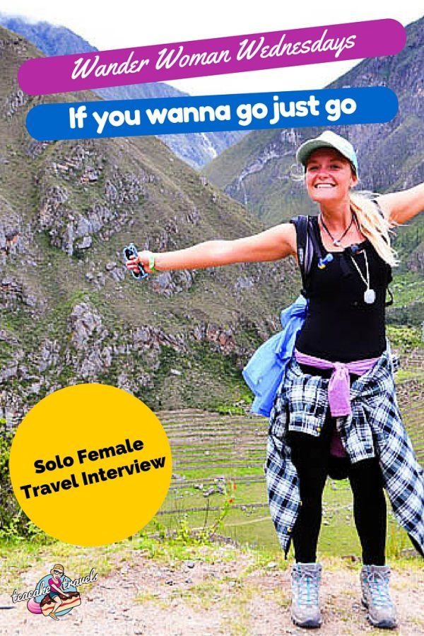 You don't have to be in the office to work! Get out and travel at the same time with Mel from If You Wanna Go Just Go in this week's Wander Woman Wednesdays