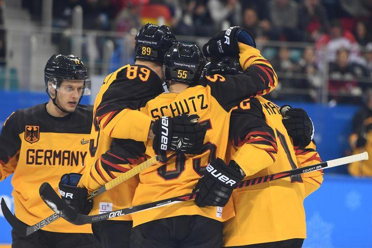 Eishockey-Sensation: Deutschland schlägt Kanada und steht im Finale von Olympia