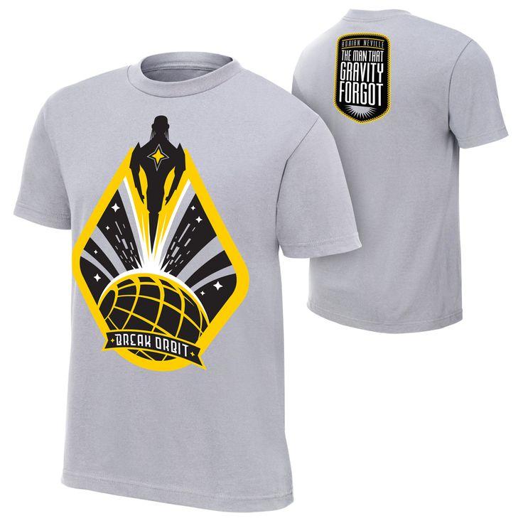 "Adrian Neville ""Break Orbit"" T-Shirt- im the biggest adrian neville fan i need this shirt!!!!"