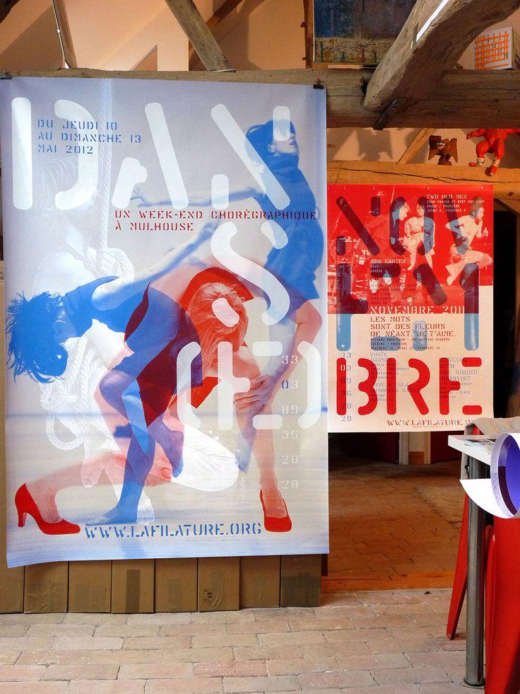 Poster Théatre Filature 2012