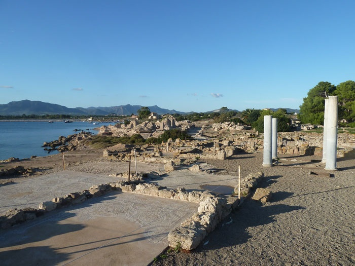 Nora, the Phoenician city, #ruins, #mosaics, #ancient, #archeology, #sardinia, #italy
