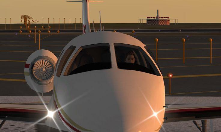 Vuelo completo con VOR en reactores jets Eclipse 550