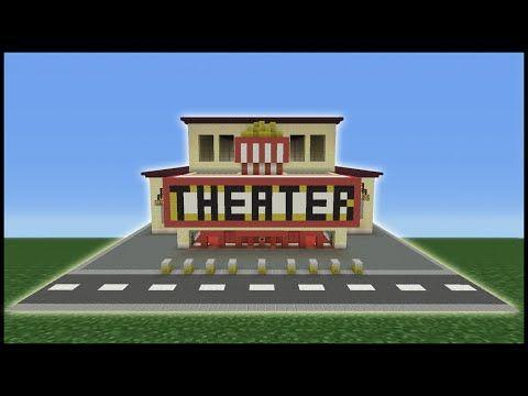 Minecraft movie theater tutorial.