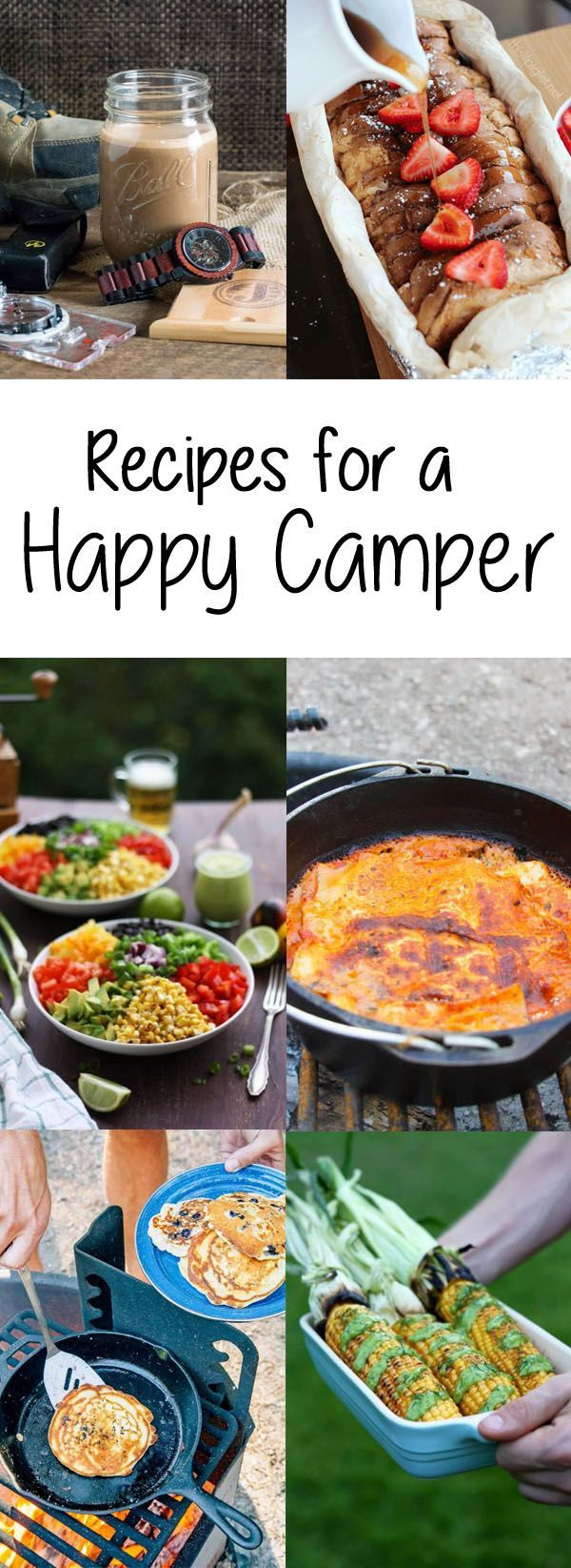 Glamping Recipes For A Happy Camper