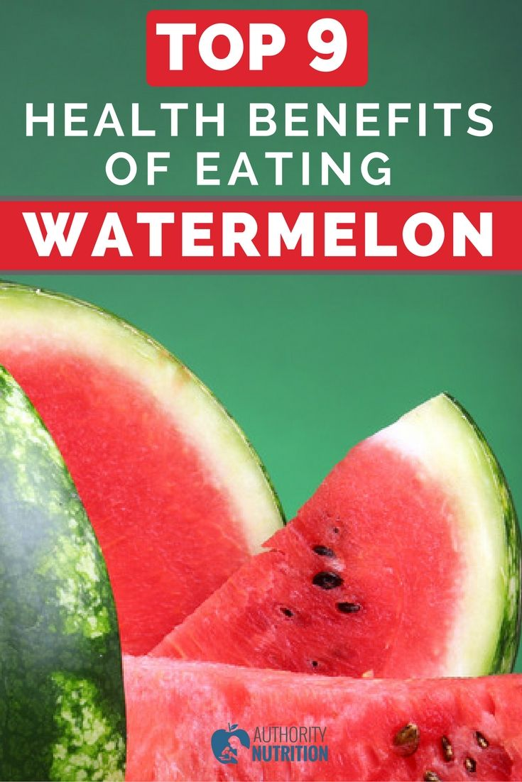 Watermelon is a delicious low-calorie treat with numerous benefits. Here are the top 9 ways that watermelon can improve your health: https://authoritynutrition.com/watermelon-health-benefits/