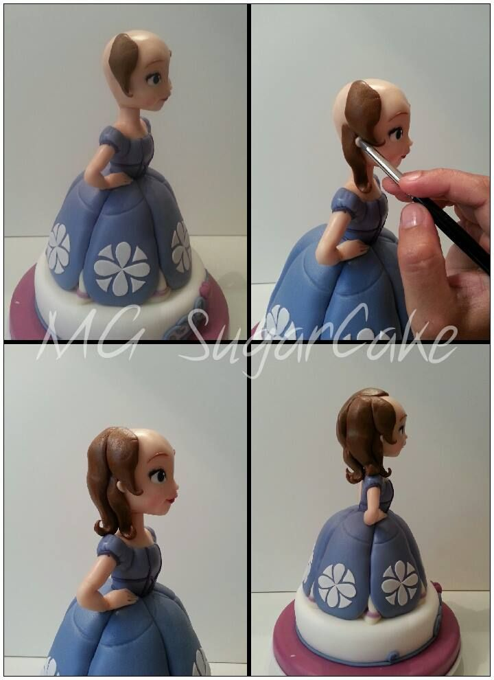 MG Sugarcake Princess Sofia face 8