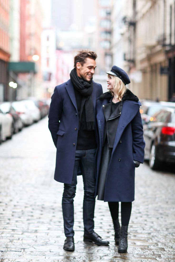 "13 Of New York's Most Stylish Twosomes #refinery29  http://www.refinery29.com/new-york-couples-street-style#slide-9  Who: Julian and LianeWhat He's Wearing: Acne everything.What She's Wearing: Cos skirt, American Retro leather jacket, Acne coat, and an Elbsegler hat.How do you two know each other?Julian: ""We have been dating for one year; we met at a gay bar in Berlin.""How do you influence each other's personal style?Julian: ""We have very different styles; I like that [hers is influenced by]…"