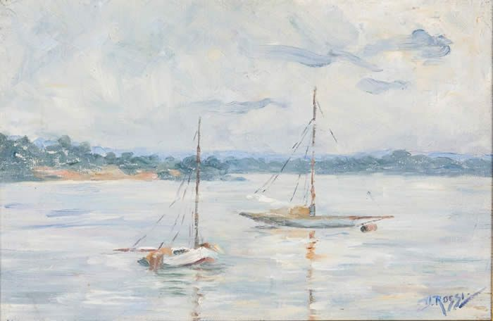 Boats on the Swan River (untitled)