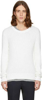 Shop Now - >  https://api.shopstyle.com/action/apiVisitRetailer?id=609185720&pid=uid6996-25233114-59 Tiger of Sweden White Addams Crewneck  ...