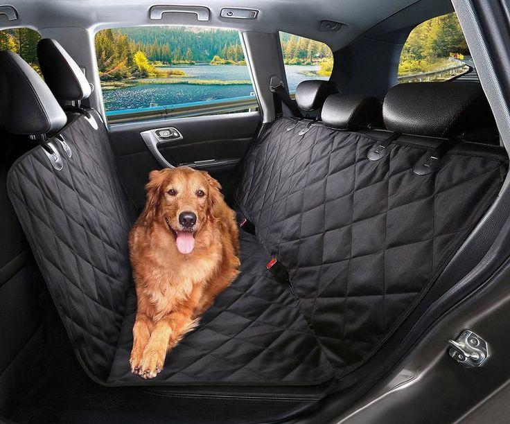 Pet Car Seat Cover Dog Cat Waterproof Scratch Proof Nonslip Backseat Hammock