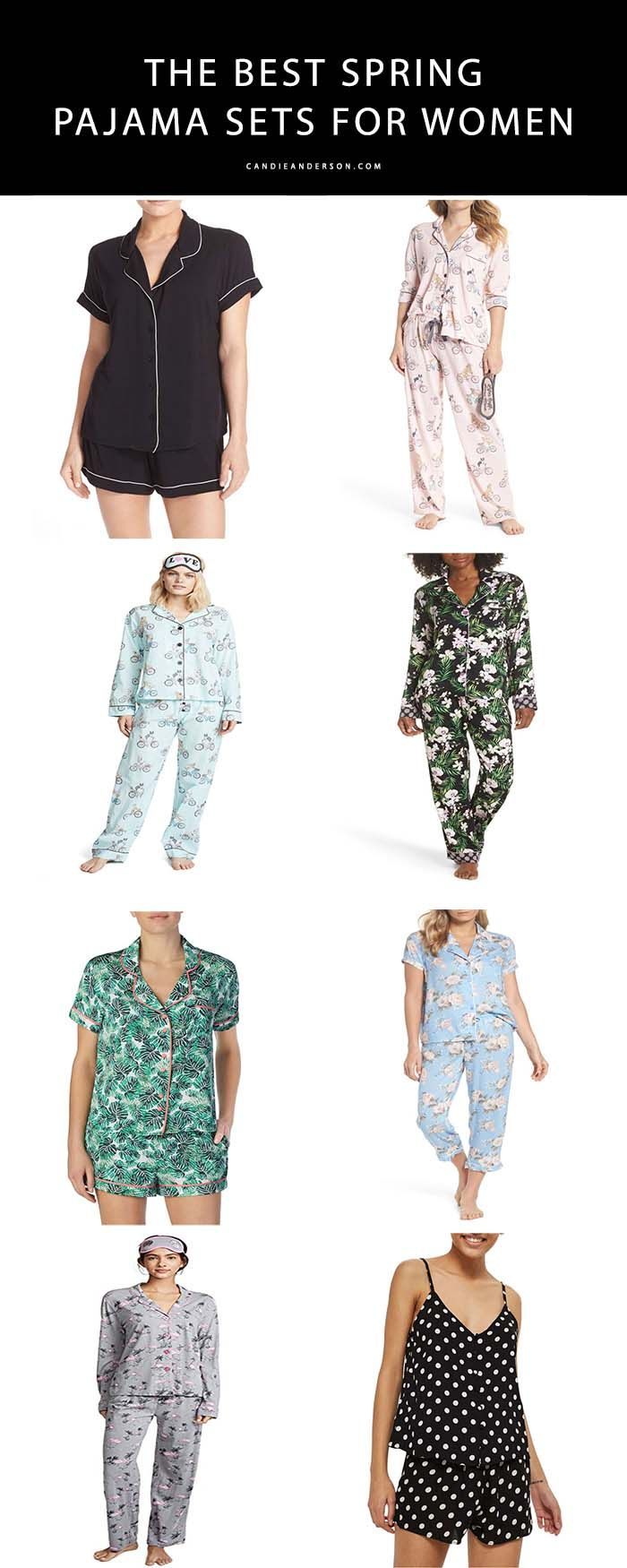 6cd2fa4e17b3 23 Best Spring Inspired Pajama Sets For Women