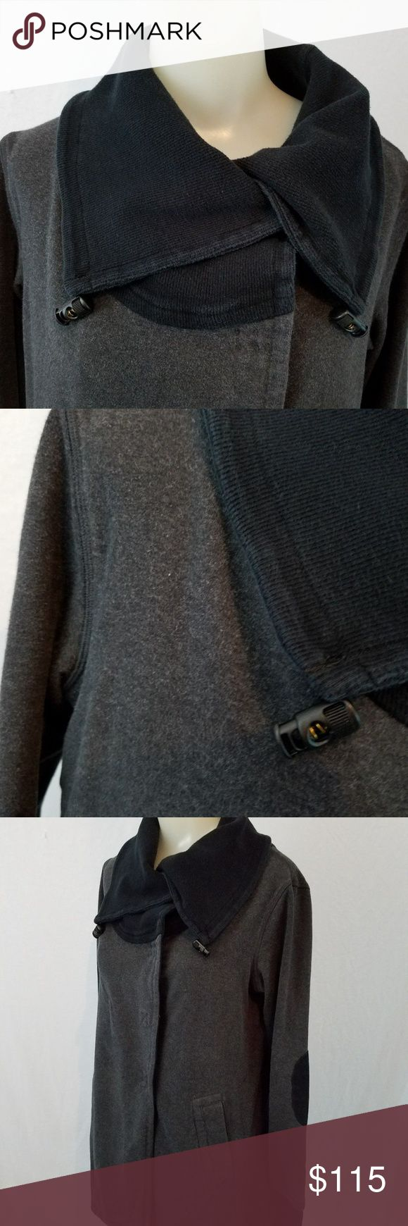 FLASH SALE ⚡️Lululemon Gratitude Jacket-SZ 4 Temperatures are dropping, and leaving the warm comfort of a yoga class can sometimes be uninviting. We designed this cozy cotton wrap to make the transition from Savasana to street a little easier. Complete with pockets, thumbholes, and an easy-to-layer fit, this wrap was built to keep the cold out and the warmth in. Some pilling throughout- see all photos . Preowned worn but life left. lululemon athletica Jackets & Coats
