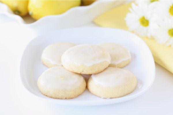 Glazed Lemon Cookies – Two Peas & Their Pod